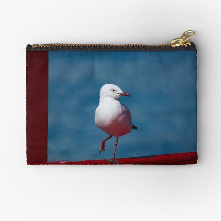 Seagull fabric coin purses in two sizes