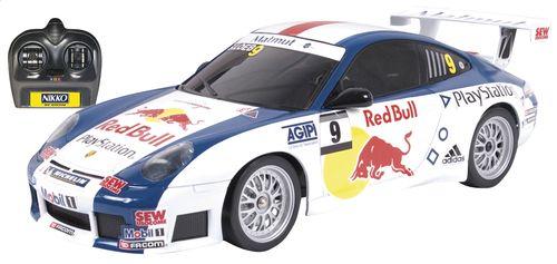 Nikko auto RC Porsche 911 Red Bull