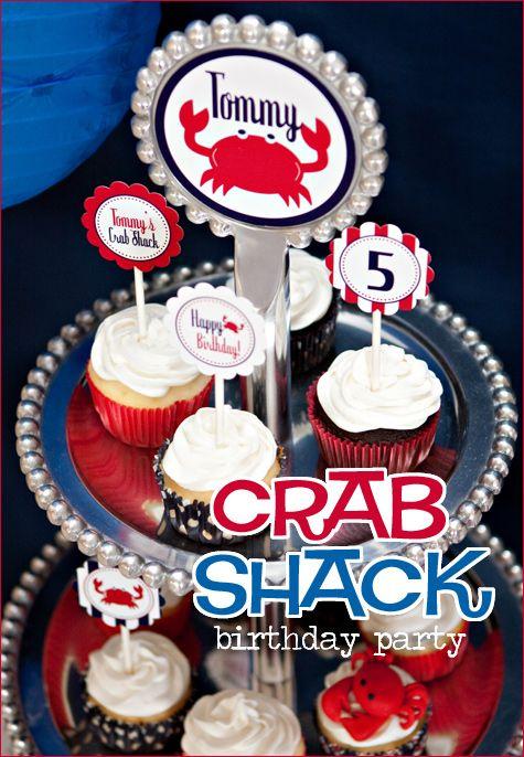 REAL PARTIES: Crab Shack Birthday
