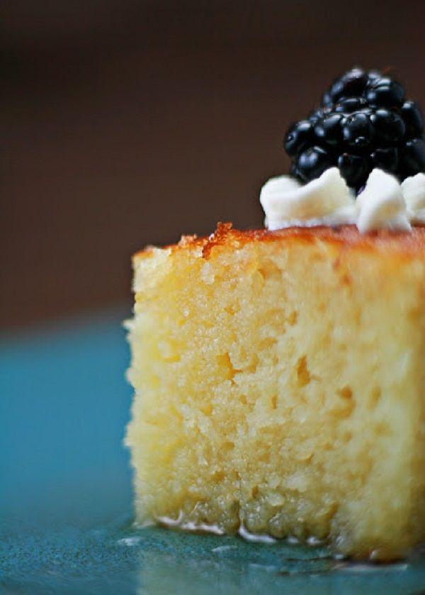 Turkish Semolina Cake in Syrup