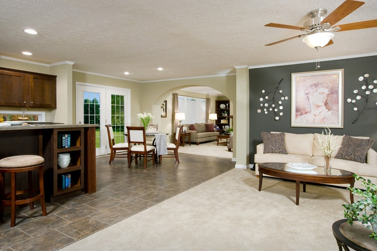 Like the open space great for entertaining clayton mobile for Concept home builders