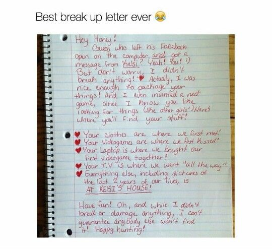 Best 25+ Break up letters ideas on Pinterest Sad words, Sad - breakup letters