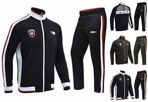 a rdx para hombre chandal sudadera zip pantalones prendas para el torso jogging pantalon boxeo gimnasia deportes