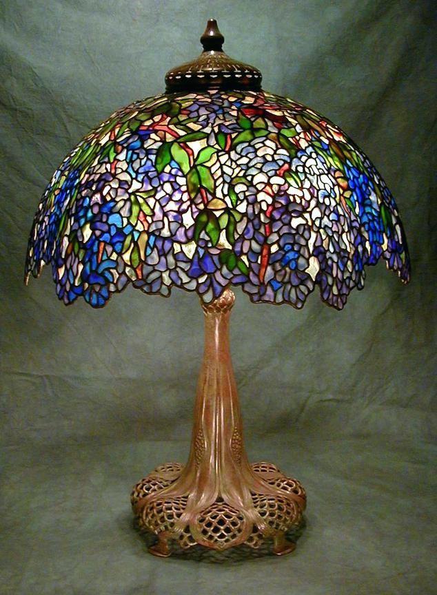 Image Result For Meyda Nightfall Wisteria Table Lamp Lampade Tiffany Lampade Tiffany