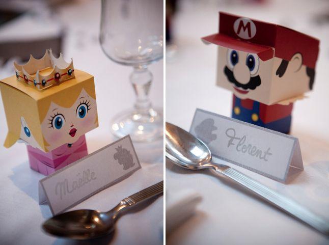 Mario et Peach sous forme de boîtes à gourmandises !