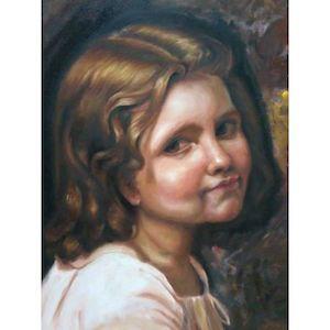 Kişiye Özel Yağlı Boya Portre - 250 TL #doğumgünühediyeleri