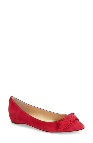 Ivanka Trump 'Catrina' Bow Flat (Women) available at #Nordstrom