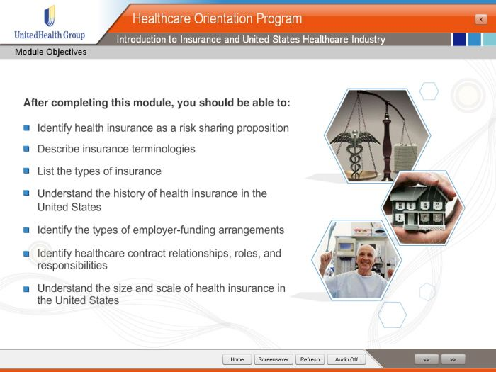 United Health group (Health Orientation Program) by Aamir Hussain at Coroflot.com