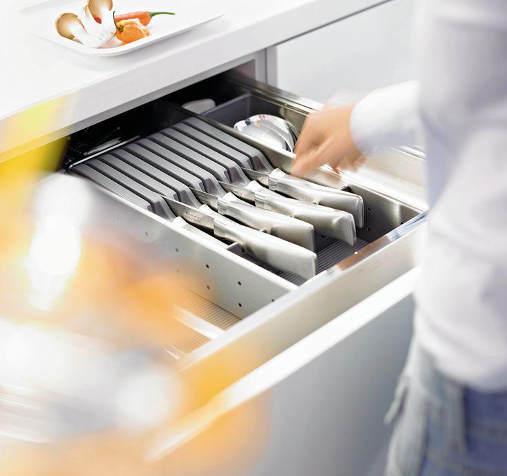 Sigdal kjøkken - innredning knivblokk plast