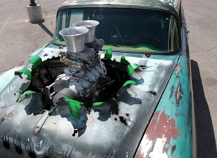#RatRod | That is way cool