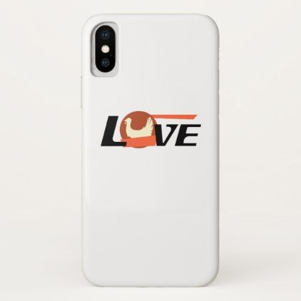 Thanksgiving Love Turkey Gif iPhone X Case - love gifts cyo personalize diy