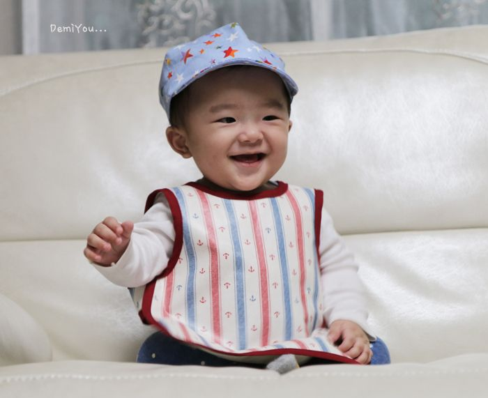 Handmade Baby bib apron