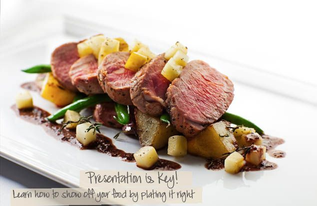 Presentation adds to the taste ! If something looks tasty it will be tasty ! Using long rectangular plates are also nice for plating because you have a lot of space to decorate