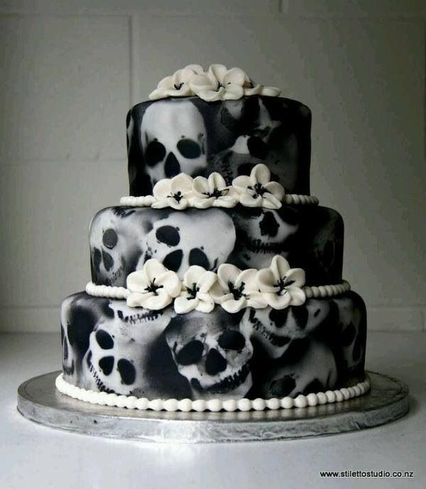 17 Best 1000 images about Non Traditional Wedding Cakes on Pinterest