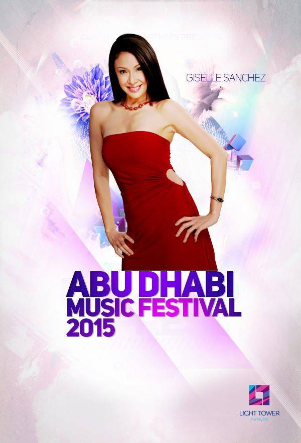 ‪#‎LiveinAbuDhabi‬ ‪#‎PinoyMusicFestival2015‬ Comedy + Acting versatile = Giselle Sanchez Live in Abu Dhabi @ City Golf Club, on Friday 8pm, October 16th 2015 For inquiry call to 050 6597107, +971 558369349, +971 2441 1399