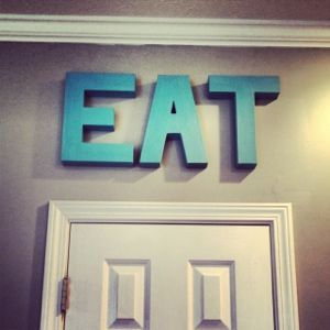 Project City: DIY Kitchen words