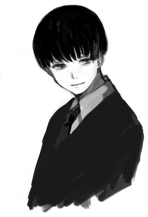 Kaneki if he was a black white dude | YOLO | Sasaki tokyo ...