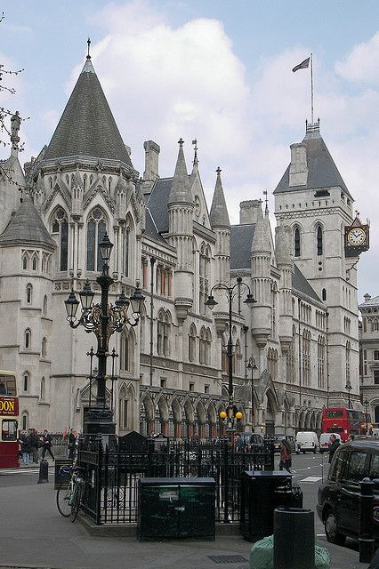 Law Courts, London by teresue, via Flickr