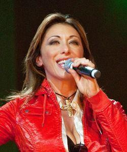 Sabrina Salerno, cantante, showgirl e attrice italiana, nata a genova, Liguria, Italy