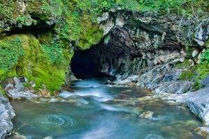 Natural Bridges Hike near Angels Camp, California