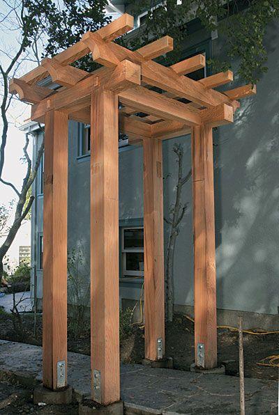 Build a Craftsman-style Pergola - Fine Homebuilding Article