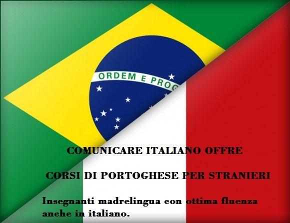 Corsi di lingua portoghese per italiani
