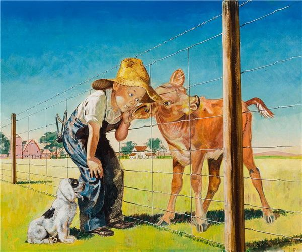 Иллюстратор Henry Hintermeister (American, 1897 1972)