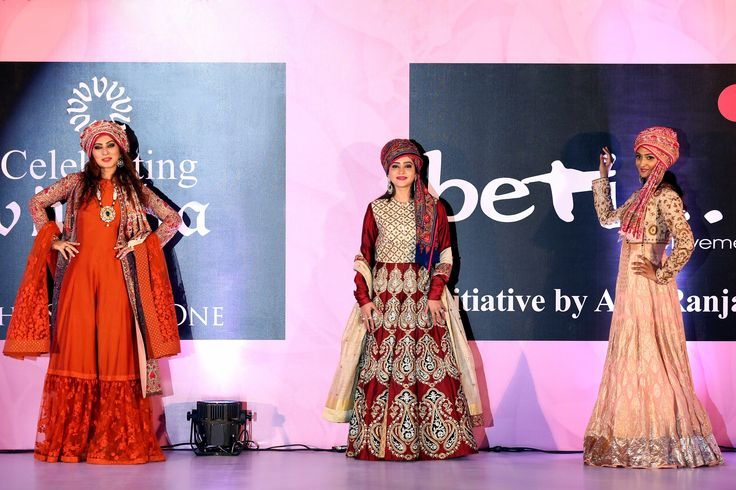 Celebs walking the ramp in StudioAV outfit at bewithbeti fashion show..