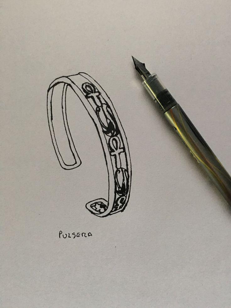 16. Diseña tu propia colección. Proceso pulsera.