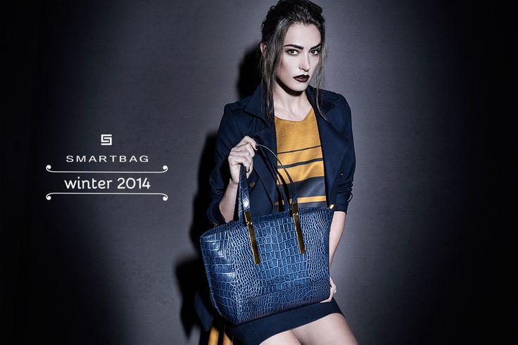 Smartbag bolsas | Campanha Inverno 2014 #shoppingbag #bolsa #couro