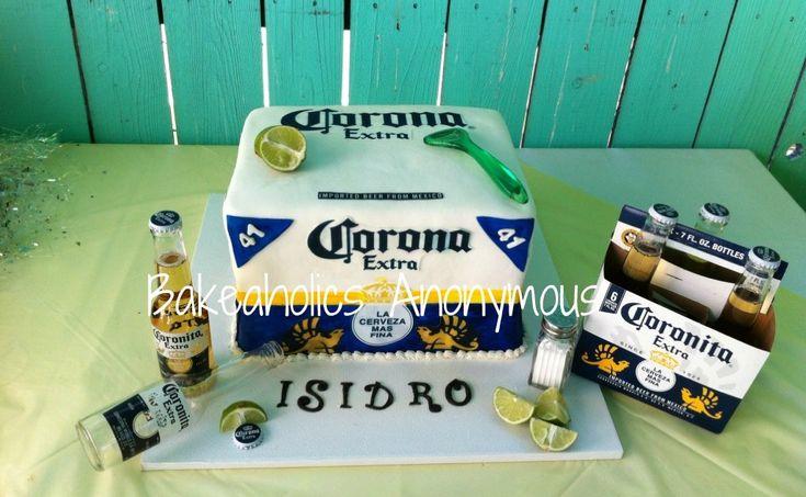 Corona Cake / Corona beer cake | Flickr - Photo Sharing!