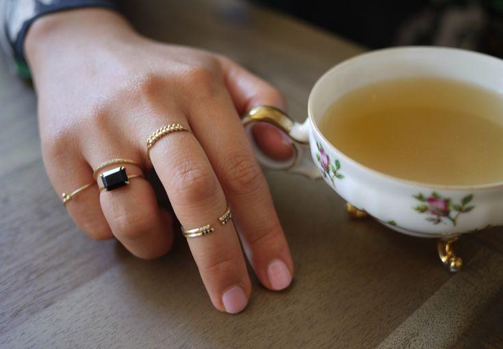 jennie kwon minimalistic rings.