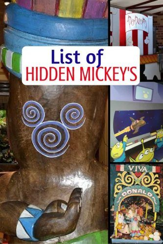 Do you enjoy looking for Hidden Mickey's at the Disney parks, Disney Springs and on the Disney Cruise Line? Check out all the Hidden Mickeys' we've found on our vacations.