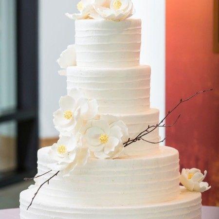 Etéreo y delicioso pastel del boda