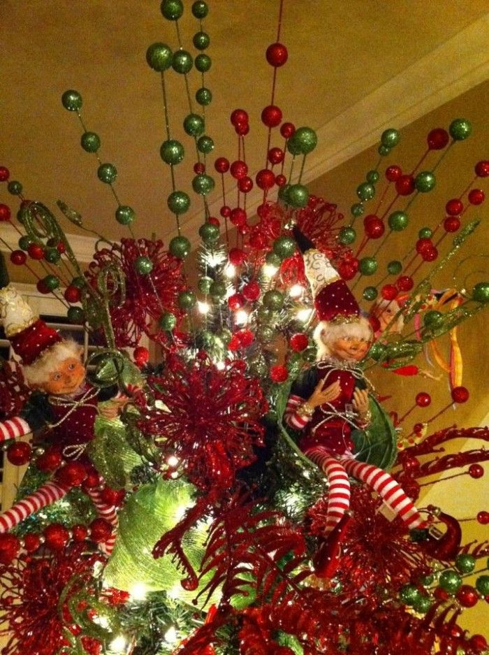 20 Awesome Christmas Tree Decorating Ideas Christmas Decorating Pinterest Christmas Tree Toppers Christmas And Tree Toppers