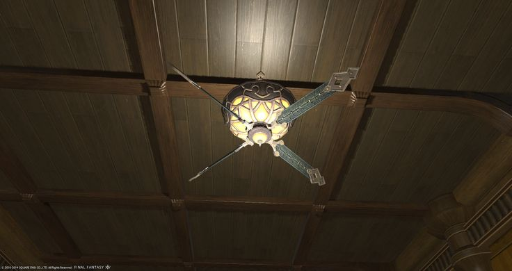 Flame Ceiling Fan Lamp Issued By The Immortal Flames This Newfangled Contraption Provides Both Light And C Fan Lamp Final Fantasy Xiv Ceiling Fan