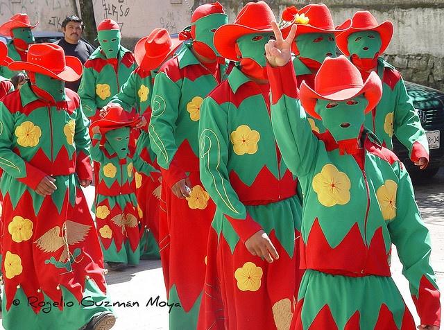 Huehues de Huauchinango by Rogelio Guzmán-Moya, via Flickr  Scarey!