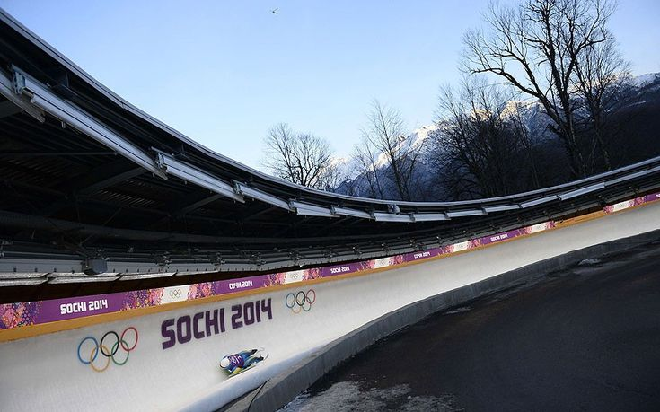 The Sanki Sliding Centre, which will host bobsleigh, skeleton and luge events at the Games,