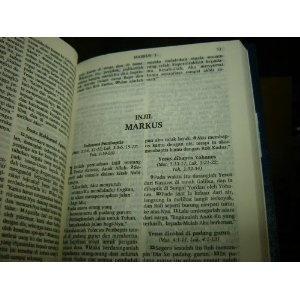 Indonesian New Testament / Perjanjian Baru / Hardcover / Lembaga Alkitab Indonesia Jakarta   $49.99