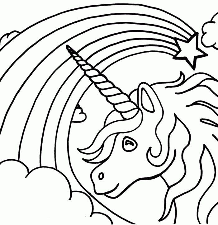 1001 Ideen Fur Ausmalbilder Einhorn Fur Kinder Malvorlage Einhorn Ausmalbilder Malvorlagen