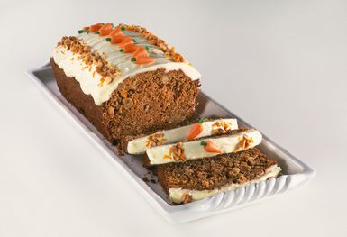 Carrot Cake Loaf Carrot Cake Loaf with Crushed Pineapple and Pecans