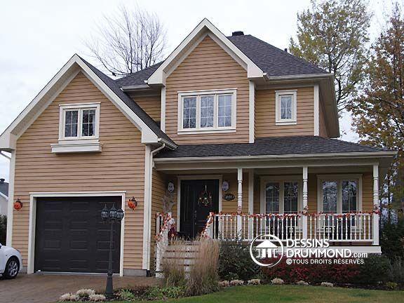 Plan de Maison unifamiliale W3415