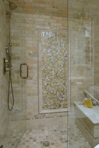 Bath Photos Shell Tile Design, Pictures, Remodel, Decor and Ideas - page 5