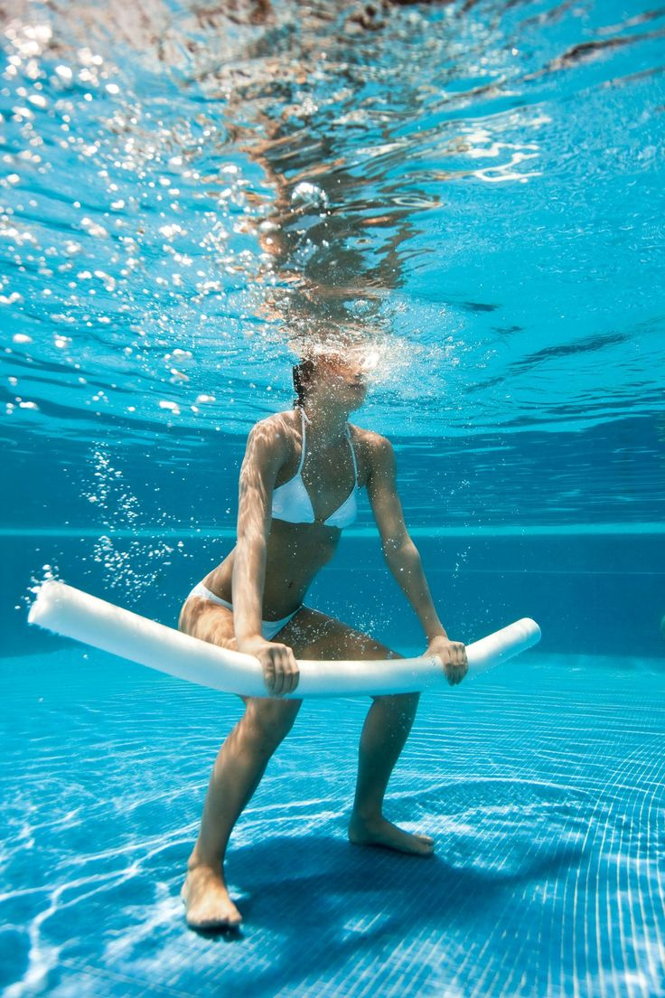 17 Best Pool Exercises Images On Pinterest Pool Exercises Swimming Pool Exercises And Water