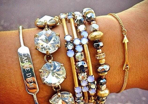 www.stelladot.com/steviestrickland to order this look!! Now THIS is an arm party! Love