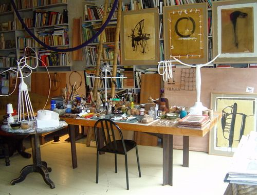 Catherine Willis' Paris studio: Artists Studios, Art Studios, Studios Offices, Stu Stu Studios, Neat Studios, Jewelry Studios, Studios Artists, Crafts Studios, Paris Studios