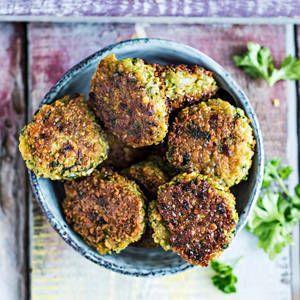 Hernefalafelit   K-Ruoka #kasvis #gluteeniton #falafel #herne #hernerouhe