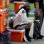 Marshawn Lynch Sits During National Anthem at Raiders' Preseason Game  -----------------------------   #news #buzzvero #events #lastminute #reuters #cnn #abcnews #bbc #foxnews #localnews #nationalnews #worldnews #новости #newspaper #noticias