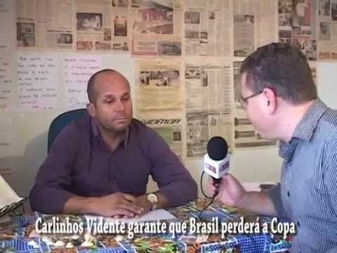 CARLINHOS VIDENTE GARANTE QUE BRASIL PERDERÁ Á COPA DO MUNDO - CANAL 38