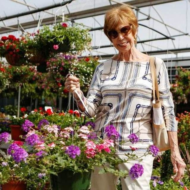 Hanging basket combos with style